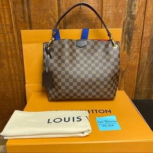Louis Vuitton Damier Graceful PM Shoulder Bag